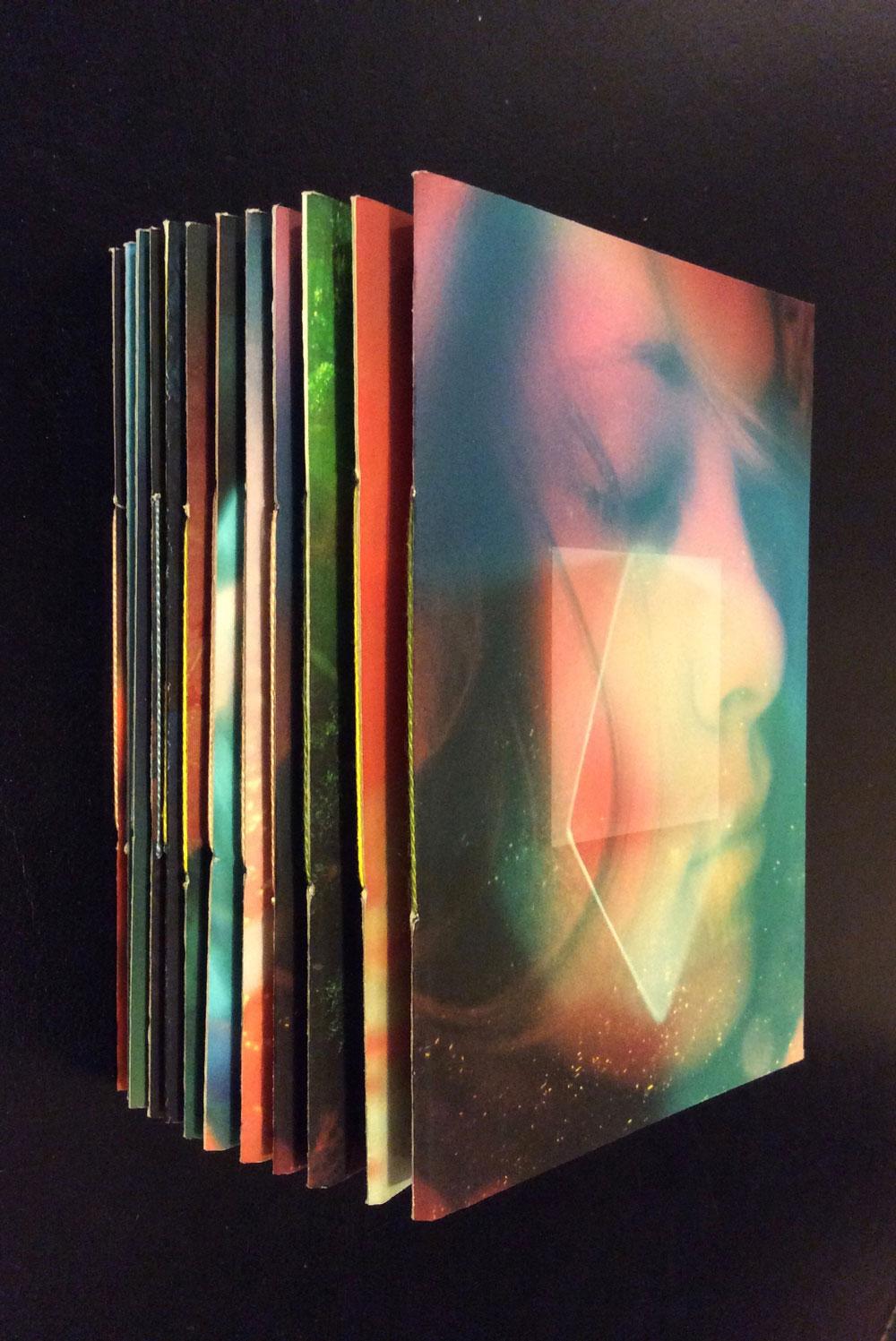 Carnet d'artiste, photographies de Claire Jolin, production Orange Claie